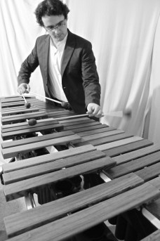 David Hernandez Deniz playing Marimba